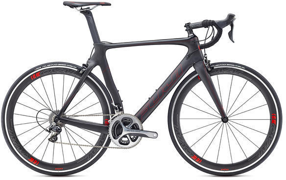 Fuji Transonic 1.3 Color: Satin Carbon / Red