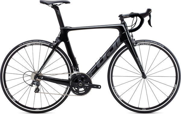 Fuji Transonic 2.3 Color: Satin Carbon/Silver