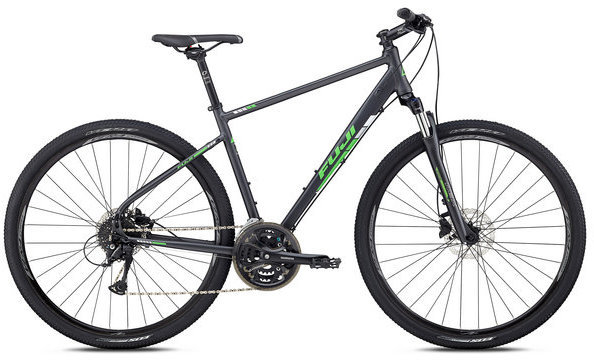 Fuji Traverse 1.5 Color: Satin Anthracite
