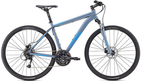 Fuji Traverse 1.5 Disc Color: Blue Gray / Cyan