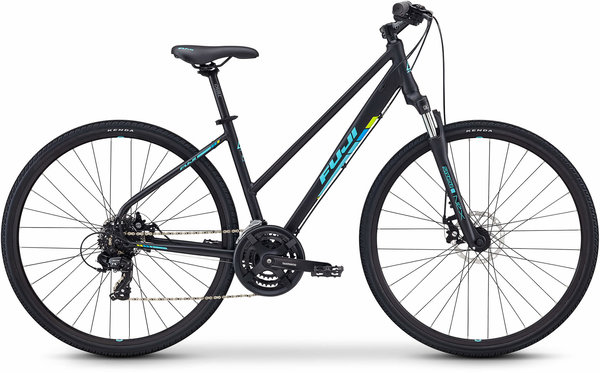 Fuji Traverse 1.7 ST Color: Satin Black