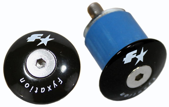 Fyxation Expanding Bar End Plugs Color: Black