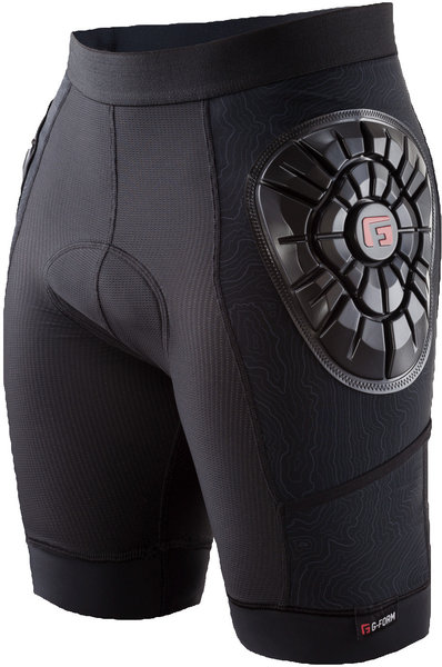 G-Form Men's Elite Bike Liner Color: Black