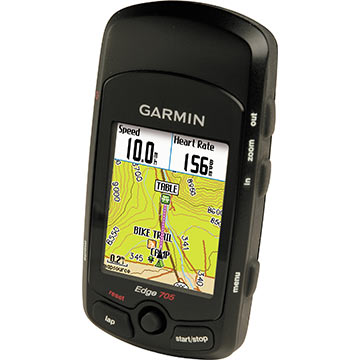 Garmin Edge 705 w/Heart-Rate Monitor, Cadence