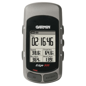 Garmin Edge 305 w/Heart-Rate Monitor