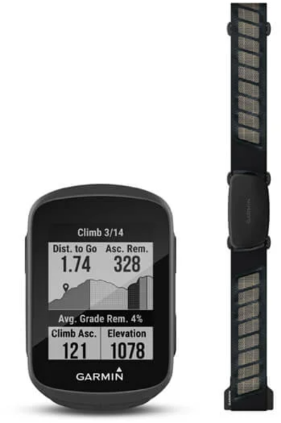 Garmin Edge 130 Plus Bundle Color: Black