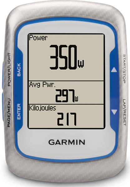 Garmin Edge 500 Color: Blue/Silver