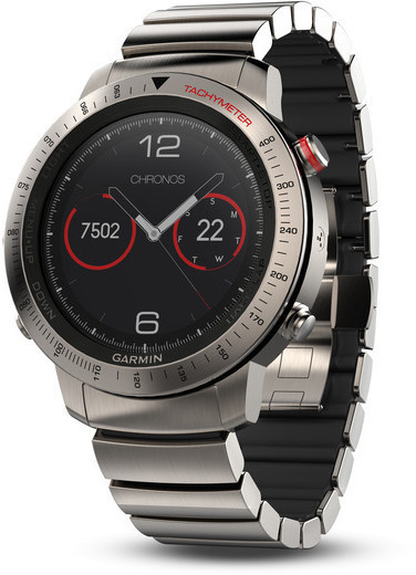 Garmin fenix Chronos Model: Titanium Hybrid Band