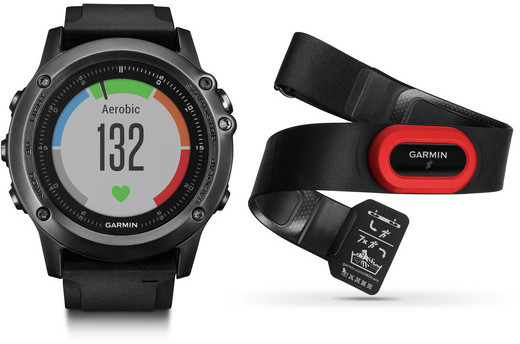 Garmin fenix 3 HR Performance Bundle Color: Sapphire Grey