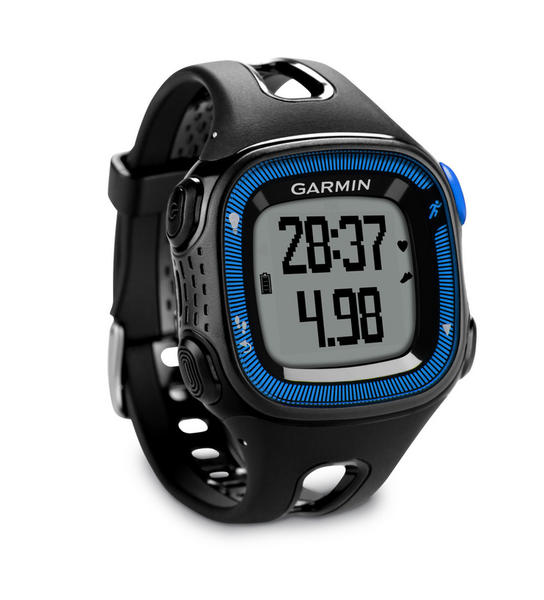 Garmin Forerunner 15 Color: Black/Blue (Large)