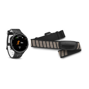 Garmin Forerunner 230 HRM Bundle Color: Black/White