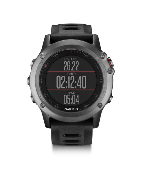 Garmin fenix 3 Color: Gray/Black