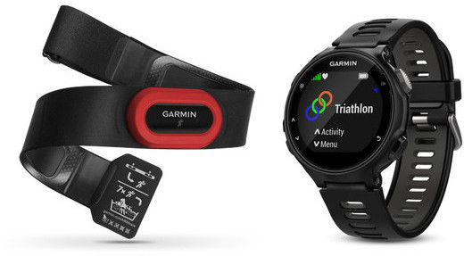 Garmin Forerunner 735XT Run Bundle Color: Black/Grey