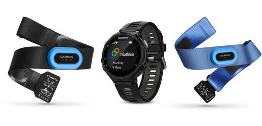 Garmin Forerunner 735XT Tri-Bundle Color: Black/Grey