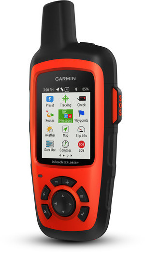 Garmin inReach Explorer+ Color: Red