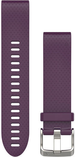 Garmin QuickFit 20 Watch Bands Color: Amethyst Purple Silicone