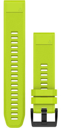 Garmin QuickFit 22 Watch Bands Color: Amp Yellow Silicone