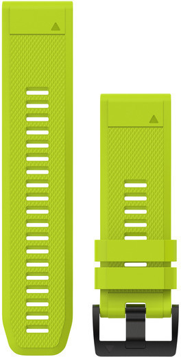 Garmin QuickFit 26 Watch Bands Color: Amp Yellow Silicone