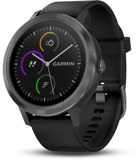 Garmin vivoactive 3 (Canada) Color: Black w/Slate Hardware