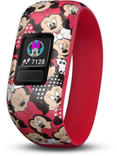 Garmin vivofit jr. 2 Disney Minnie Mouse (Canada) Color: Red