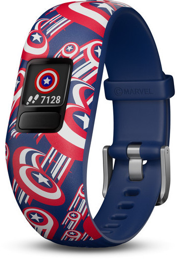 Garmin vivofit jr. 2 Marvel Color: Captain America