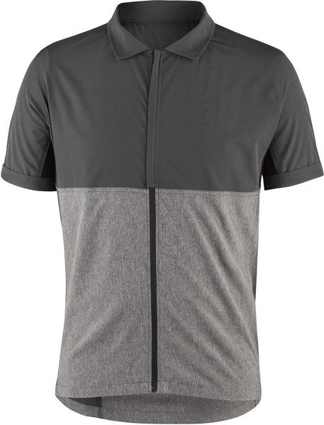 Garneau Cambridge Cycling Shirt Color: Asphalt