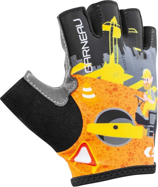 Garneau Kid Ride Cycling Gloves Color: Construction
