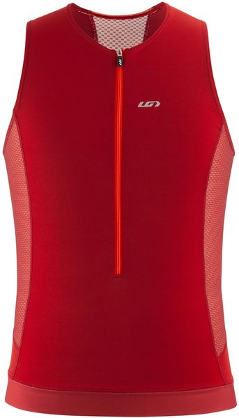 Garneau Sprint Tri Sleeveless Color: Red Rock