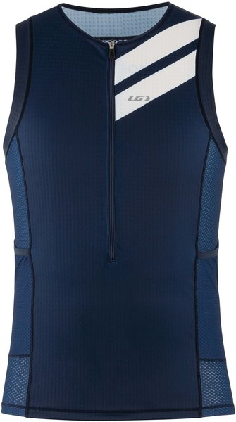 Garneau Vent Tri Sleeveless CF Top Color: Blue Sand