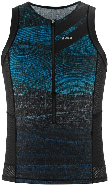 Garneau Vent Tri Sleeveless Top Color: Blue Sand