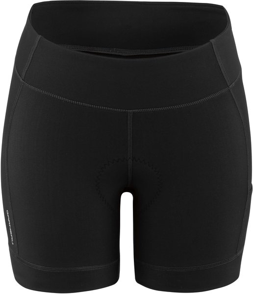 Garneau Women's Fit Sensor 5.5 Shorts 2 Color: Black