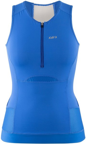 Garneau Women's Sprint Tri Sleeveless Color: Santiago Blue