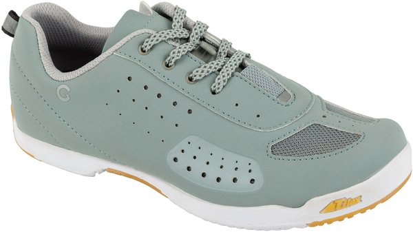 Garneau Women's Urban Cycling Shoes Color: Green Gray