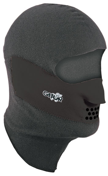 Gator Gator Clava Face Protector Color: Black