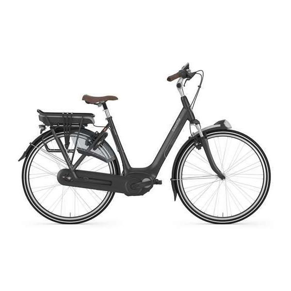Gazelle Bikes Arroyo C8 HMB Step-Thru Color: Black Matte