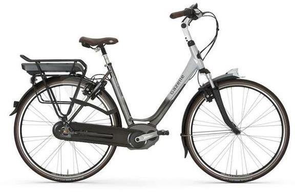 Gazelle Bikes Arroyo C8 HM Color: Black/Grace Silver