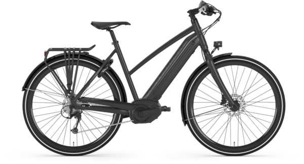 Gazelle Bikes CityZen T10 HMB Speed Color: Black