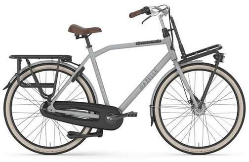 Gazelle Bikes Heavy Duty NL Diamond Color: Just Gray