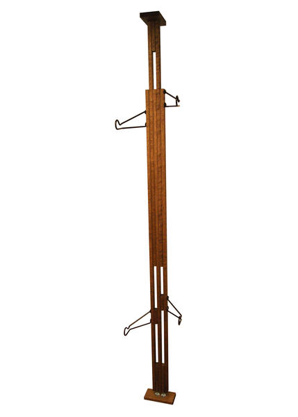 Gear Up OakRak Floor-to-Ceiling 2 Bike Storage Rack Color: Dark Walnut
