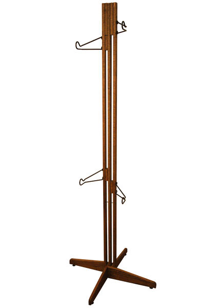 Gear Up OakRak Freestand 2 Bike Storage Rack Color: Dark Walnut