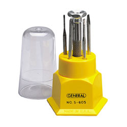 General Tools Jeweler Screwdriver Set