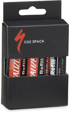 Specialized Threaded CO2 Cartridges (3-Pack)