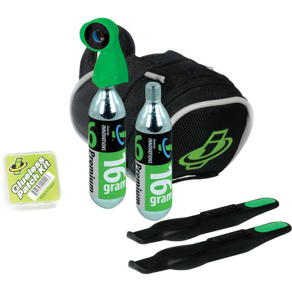 Genuine Innovations Seat Bag CO2 Inflation Kit (Tri/Road)