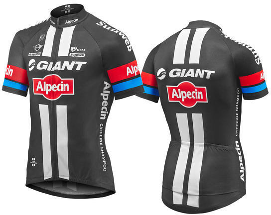 Giant 2017 Team Giant-Alpecin Replica Short Sleeve Jersey
