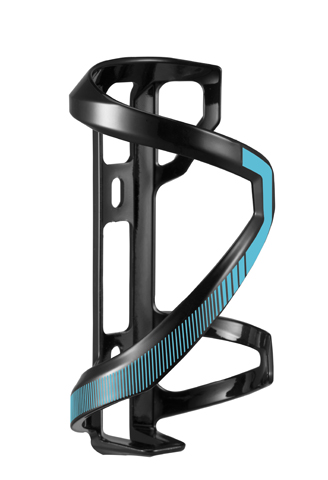 Giant AirWay Sport Right Hand Side-Pull Bottle Cage Color: Black/Blue