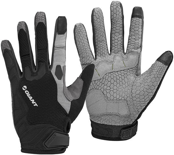 Giant All Mountain Long Finger Glove Color: Black/Gray