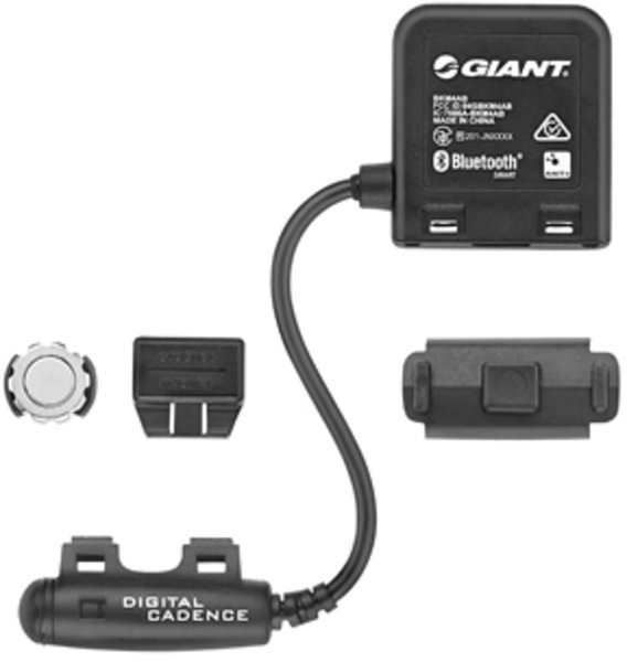 Giant ANT+/BLE 2-in-1 Speed & Cadence Sensor Black Color: Black