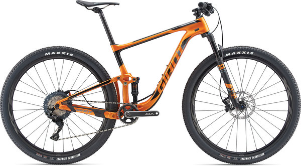 Giant Anthem Advanced 29 1 Color: Metallic Orange/Carbon/Black