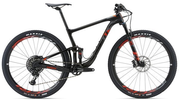 Giant Anthem Advanced Pro 29 1 Color: Carbon/Red