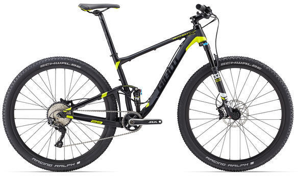 Giant Anthem X 29er Color: Black/Lime